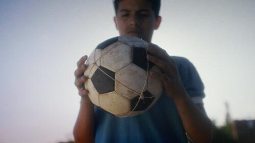 la pelota De Dios color grading